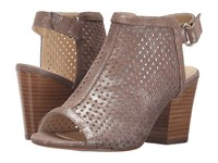 Isola Lora Anthracite Distressed Foil Suede High Heels Brown