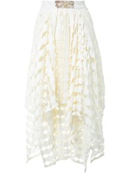 Awake Layered Full Skirt White