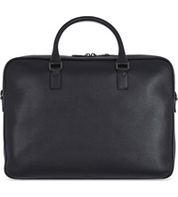 Mulberry Theo Day Leather Document Case Black