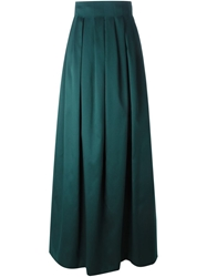 Dice Kayek High Waist Pleated Skirt