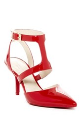 Kenneth Cole Laird Cutout Pump Red