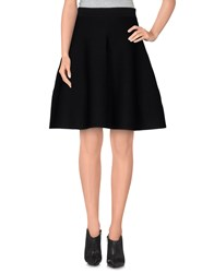 Suncoo Skirts Knee Length Skirts Women Black