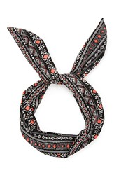 Forever 21 Tribal Print Wire Headwrap