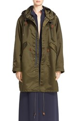 Women's Sofie D'hoore 'Clever' Hooded Coat