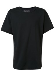 Robert Geller 'The Seconds' T Shirt Black