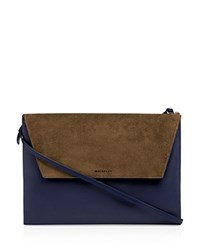 Whistles Albany Convertible Envelope Clutch Navy
