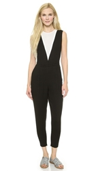 1 By O'2nd Gabriel V Jumpsuit Black