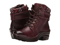 Bionica Romulus Red Women's Lace Up Boots