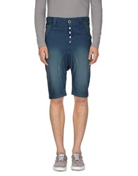 Humor Denim Denim Bermudas Men Slate Blue