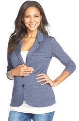 Women's Tart Maternity 'Essential' Maternity Blazer Blue Denim