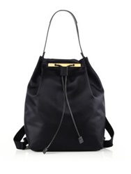 The Row Nylon Backpack 11 Navy