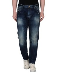 Uniform Denim Pants Blue
