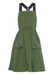 Marc By Marc Jacobs Bow Detail Cotton Skater Dress