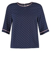 Louche Joline Blouse Navy Dark Blue