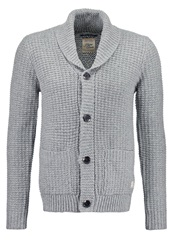 Scotch And Soda Cardigan Grey Mottled Grey