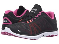 Ryka Dynamic 2 Black Bougainvillea Electric Coral Women's Shoes