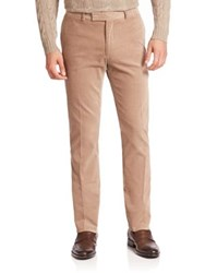 Ralph Lauren Purple Label Solid Corduroy Pants Taupe