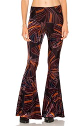 Free People Float Away Velvet Pants Navy