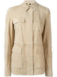 Belstaff Patch Pocket Jacket Nude And Neutrals