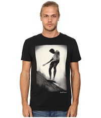 Deus Ex Machina Slide On Water Tee Black Men's T Shirt