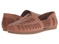 Bobs From Skechers Luxe Bobs Brown Women's Slip On Shoes