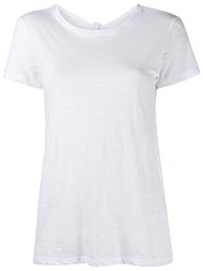 Proenza Schouler Open Back T Shirt White