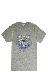 Kenzo Iconic Tiger T Shirt Grey