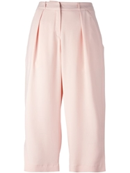 Lala Berlin Wide Leg Culottes Pink And Purple