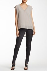 Rag And Bone Lambskin Legging Black