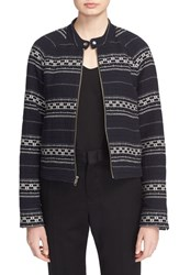 Women's A.L.C. 'Bocle' Embroidered Stripe Jacket