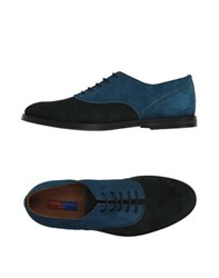 Opening Ceremony Footwear Lace Up Shoes Men Emerald Green