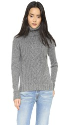 Banjo And Matilda Speakeasy Cable Sweater Black Marle