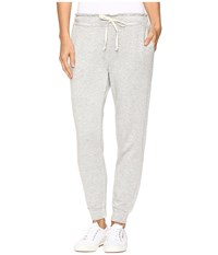 Splendid French Terry Jogger Heather Grey Women's Casual Pants Gray