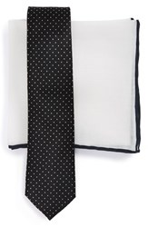 The Tie Bar Men's And Pocket Square Set