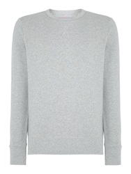 Ben Sherman House Plain Crew Neck Sweatshirt Grey