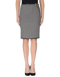 Boy By Band Of Outsiders Knee Length Skirts Steel Grey