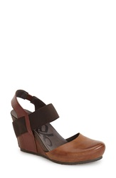 Otbt 'Rexburg' Wedge Sandal Women Havana Brown