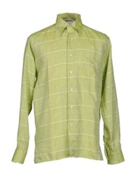 Gran Sasso Shirts Light Green