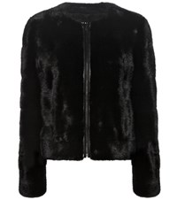 Tom Ford Mink Fur Jacket Black