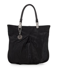 Charles Jourdan Felicia 2 Calf Hair Tote Black