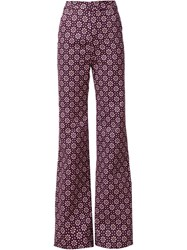 Holly Fulton 'Bard' Trousers Pink And Purple