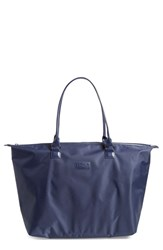 Men's Lipault Paris Shopping Tote Blue Navy
