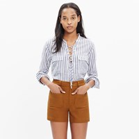 Madewell Monroe High Rise Shorts