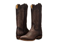 Frye Billy Pull On Smoke Washed Oiled Vintage Cowboy Boots Black