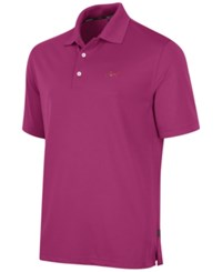 Greg Norman For Tasso Elba Big And Tall 5 Iron Performance Golf Polo Victorian Rose