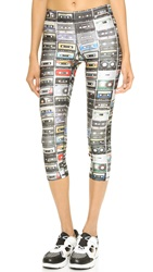 Zara Terez Mix Tapes Performance Capri Leggings Multi
