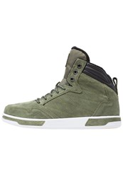 K1x Hightop Trainers Olive