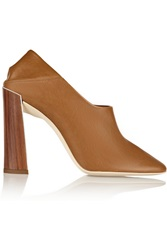 Stella Mccartney Faux Leather Pumps Brown