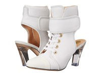 Viktor And Rolf Lace Front Bootie White