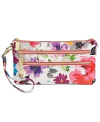 Styleandco. Style And Co. Floral Mini Convertible Wristlet Crossbody Only At Macy's Pansy Floral